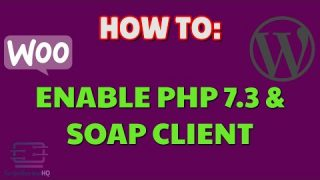 How to enable PHP 7.3 and SOAP Client | WordPress | Woozone | AAWP | Plugins