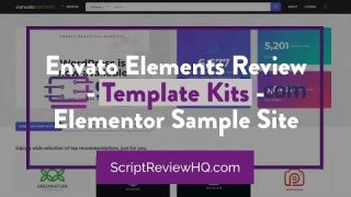 Envato Elements Review – Template Kits – Elementor Sample Site