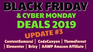 Best Black Friday Deals 2019 | Content Samurai (Vidnami) 40% Discount | Code Canyon | Glorify