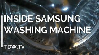 What happens inside a Samsung Ecobubble washing machine