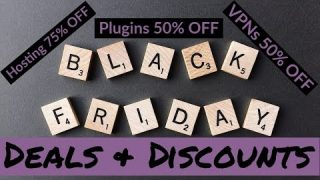 Black Friday & Cyber Monday Deals 2019 – WordPress Hosting, Plugins and More!