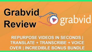 Grabvid Review | Repurpose Videos | Amazing YouTube Bonuses