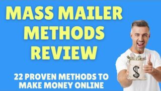 Mass Mailer Methods Review, 22 Proven Methods to Make Money with Affiliate Marketing + Bonuses