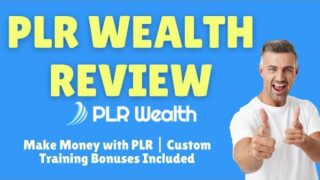 PLR Wealth Review: Make money with PLR products